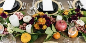Simple tablescape ideas for your Thanksgiving table