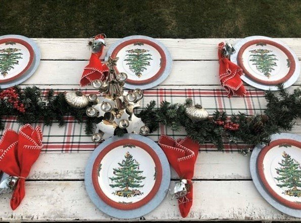 out of the box ways to use ornaments