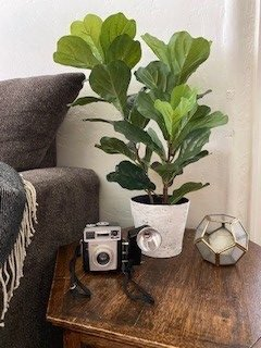 How to make concrete looking pots
