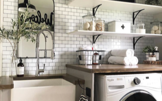 Laundry Room Makeover One Room Challenge