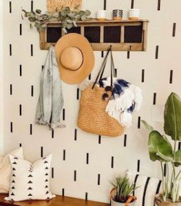DIY wall treatment for under $1