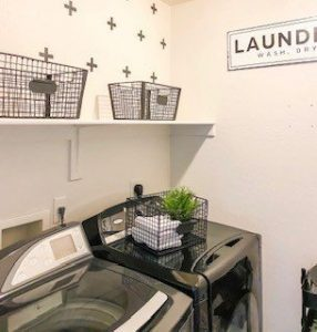 Laundry Room Makeover Details