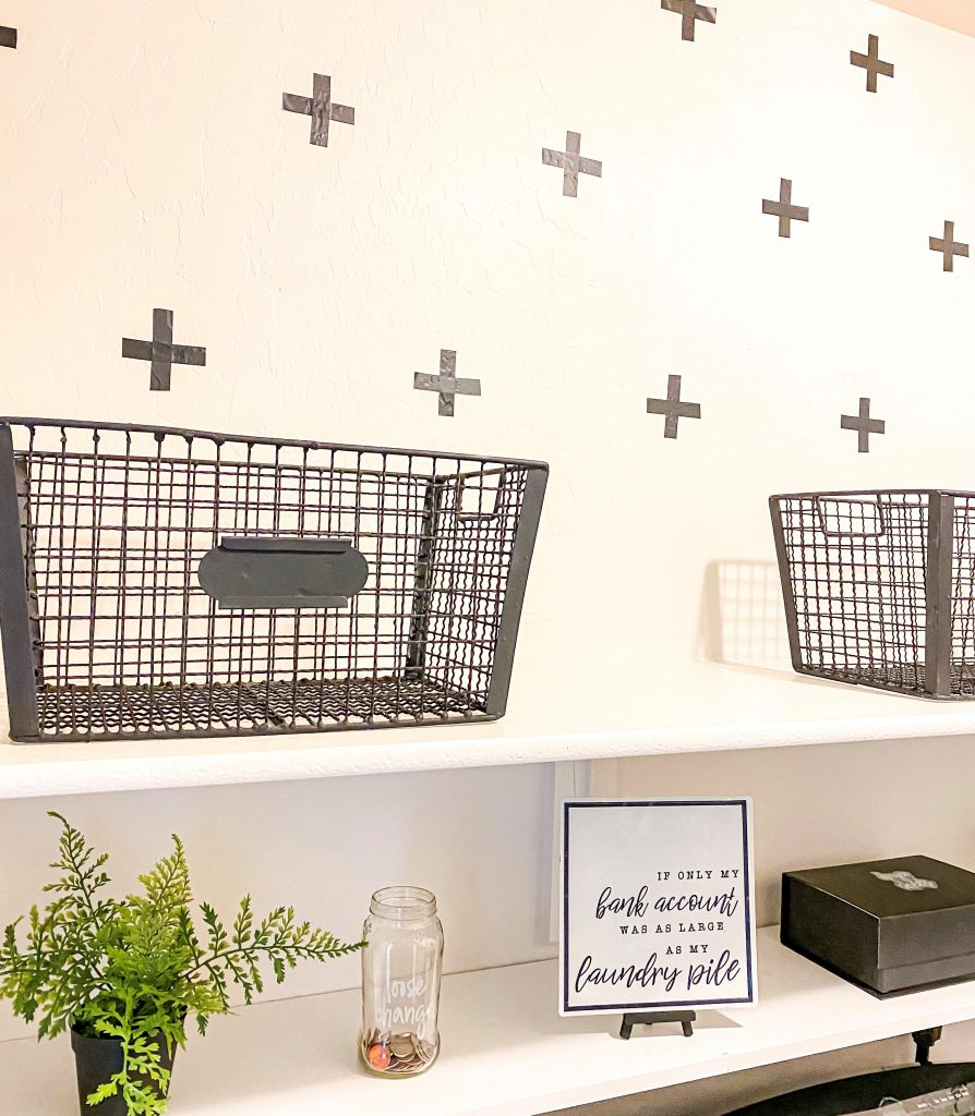 Laundry Room Makeover for under $325