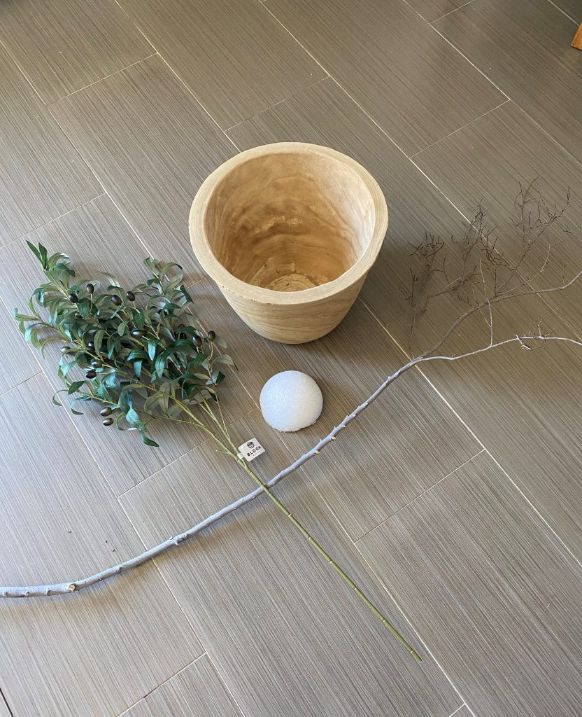 Quick-and Easy DIY Faux Olive Tree