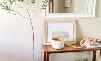 Easy DIY Faux Olive Tree
