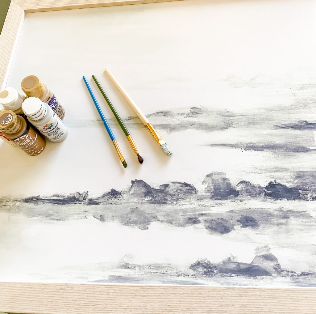 How to Redo Artwork to Match Your Decor