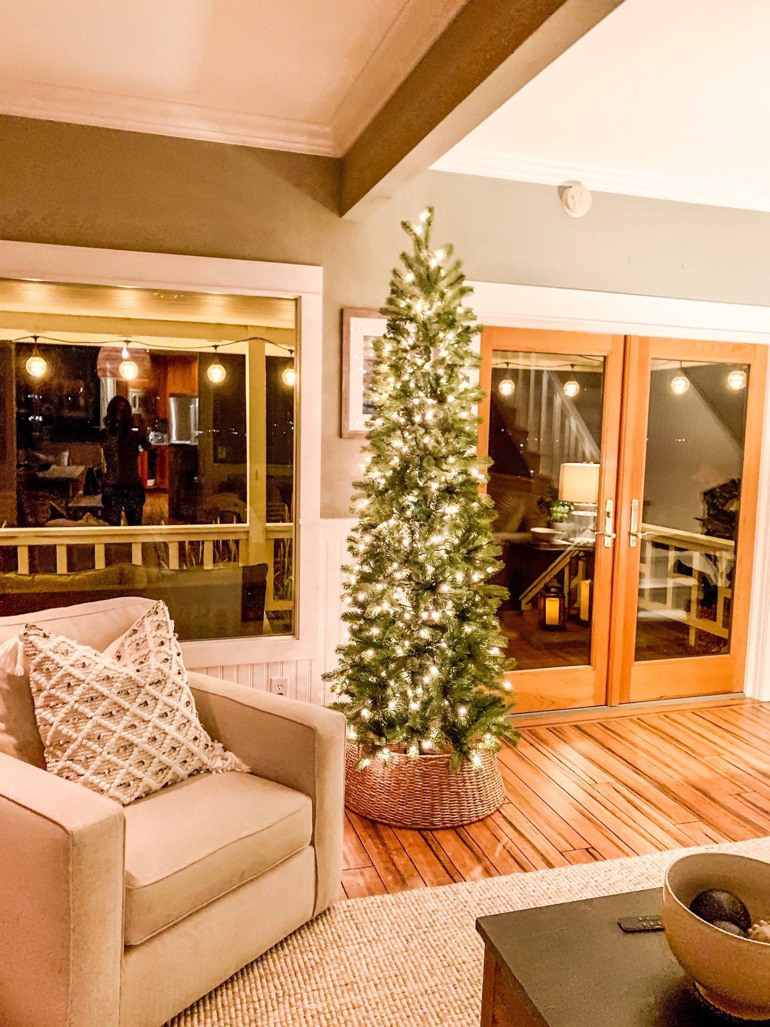 All About Christmas Tree Collars Faith And Farmhouse
