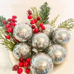 How to Make Mercury Glass Ornaments