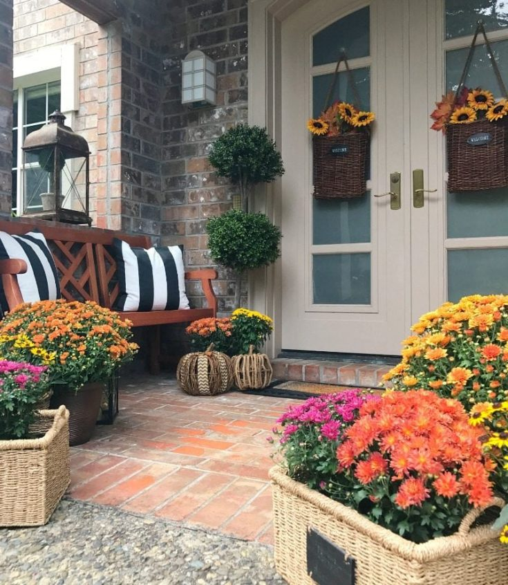 Easy Fall Front Porch Ideas