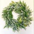 DIY all year wreath on a budget