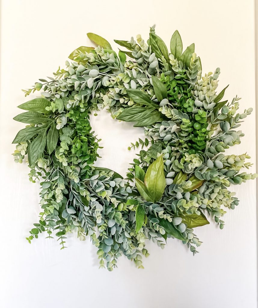 DIY All-Year Wreath on a Budget