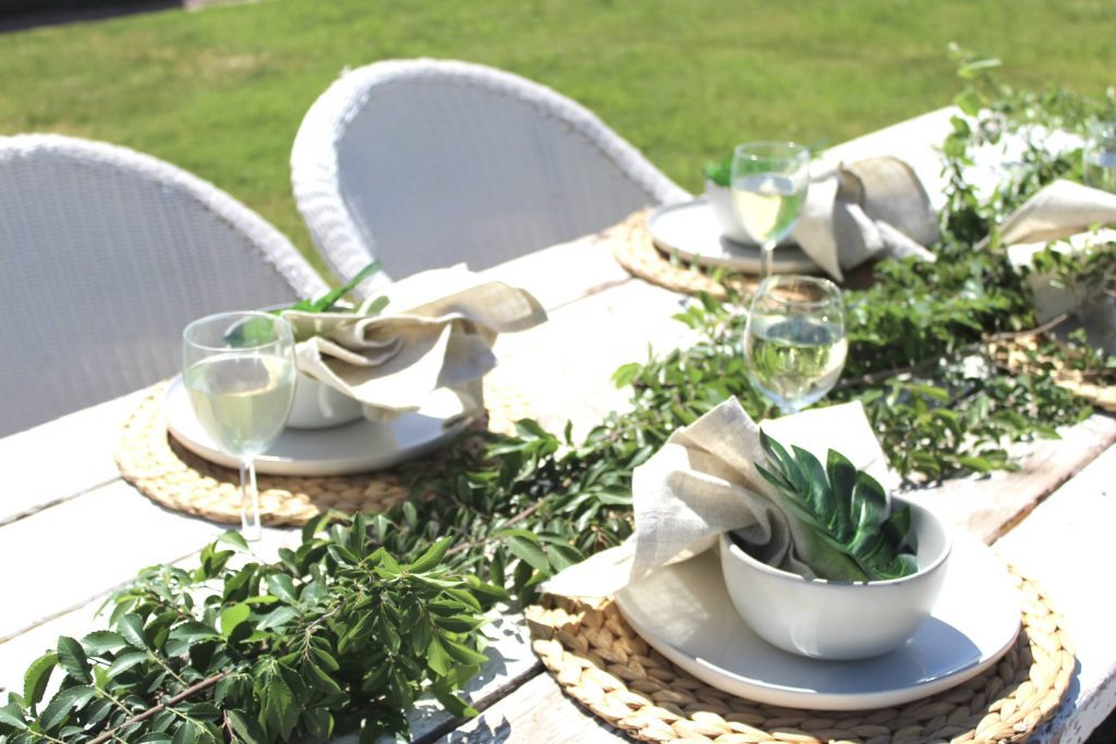 Serena & Lily Tablescape Dupe