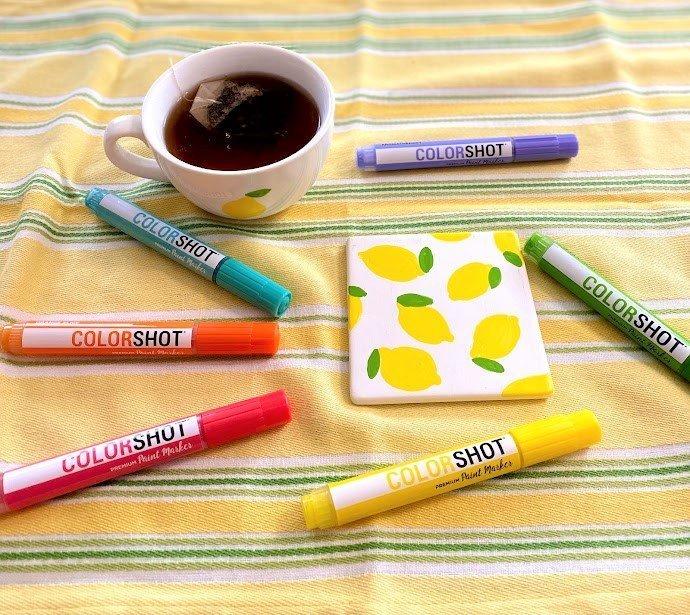 paint pen marker mug